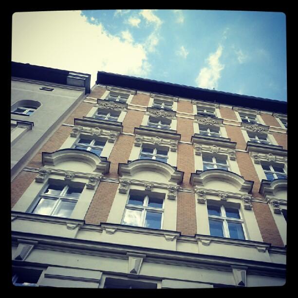Wall, sky