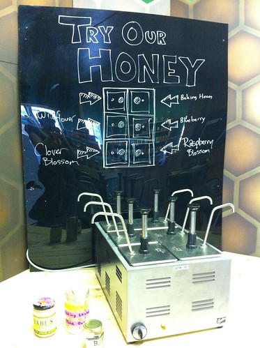 Honey Sample Bar