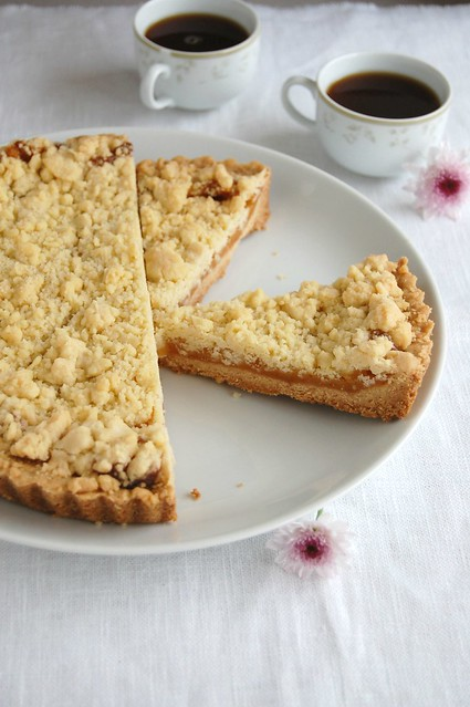 Lemon crumb tart / Torta crumble de limão siciliano