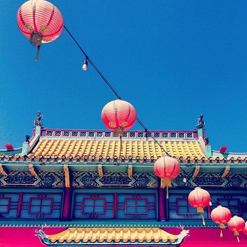Chinatown #chineselanterns #instagram #iphone