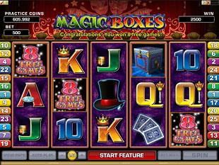Magic Boxes Bonus Feature
