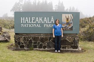 Haleakala NP Entrance