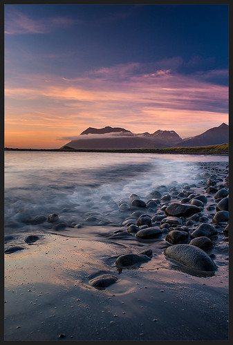 sunset seascape iceland midnight melasveit distagont2825 belgsholt hafnarfjalll