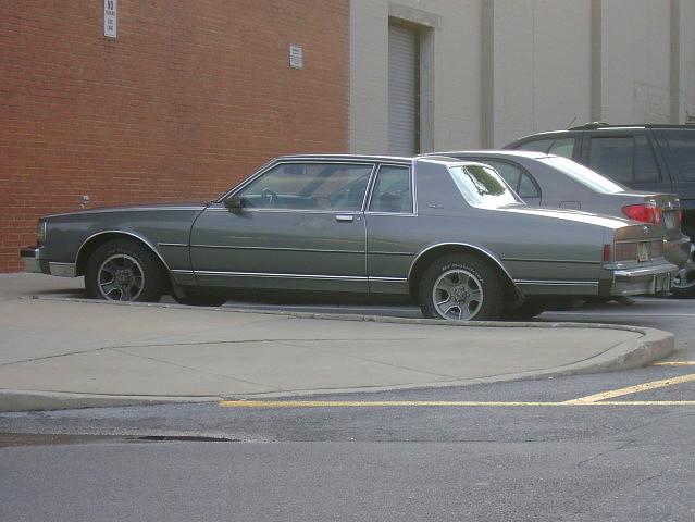 1987 Chevy Caprice 2 Door