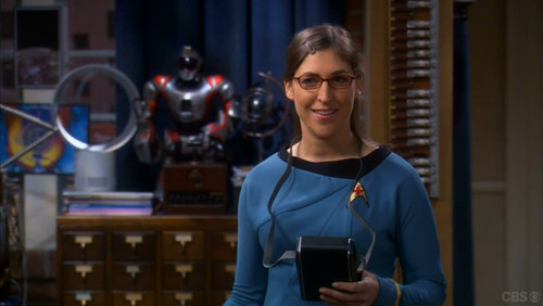 Nurse Amy Farrah Fowler, Ph.D.