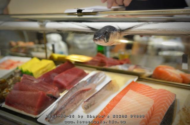 飛魚生魚片