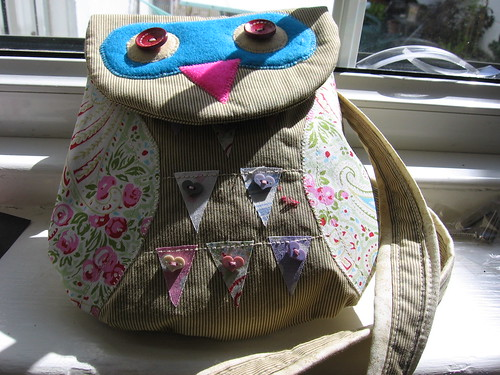 Owl bag designed by me by City krafters
