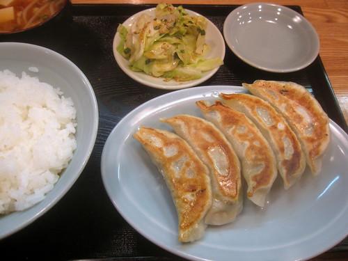 餃子定食@なんこ(江古田)