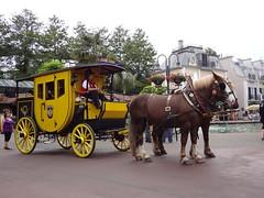 Kutschenfahrt im Europapark in Rust