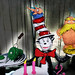 Dr. Seuss Cat In the Hat 2nd Birthday cake.