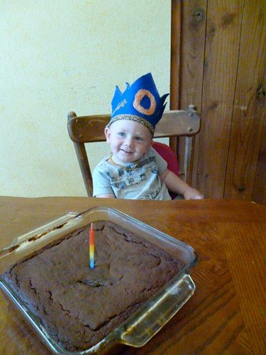 ollie and cake