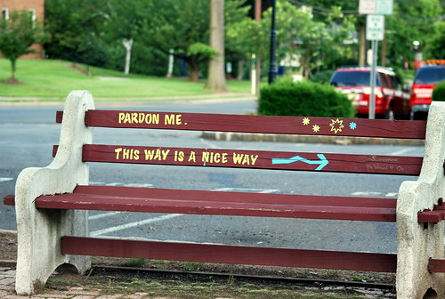 WPIR - bench in cranford