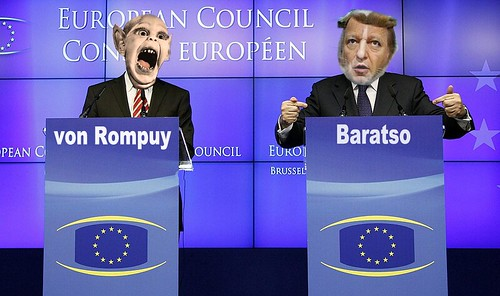ROMPUY AND BARATSO by Colonel Flick/WilliamBanzai7