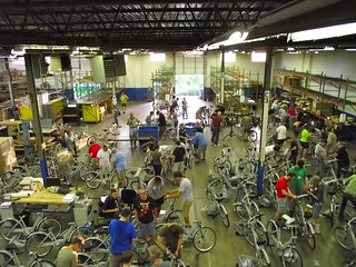 Building the Kansas City B Cycle bikes