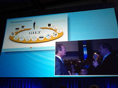 Gilt From Salesforce Cloudforce Toronto