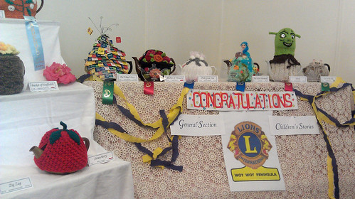 Tea Cozy Exhibition 2012 - Winners