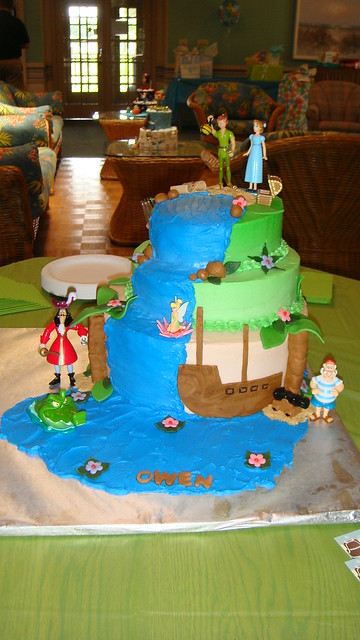 peter pan baby shower cake flickr photo sharing
