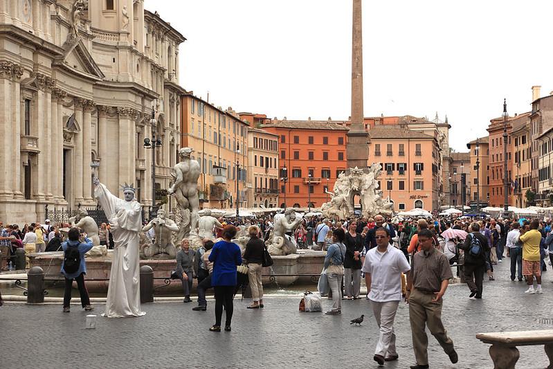 Liberty of Piazza Navona