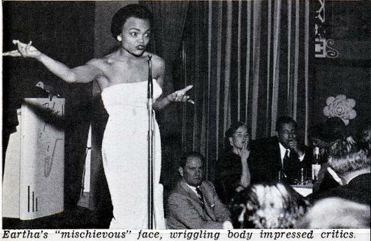 Jet Dec 3, 1953 Eartha Kitt