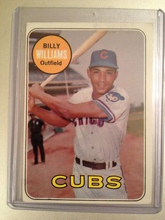 1969 Topps Billy Williams card