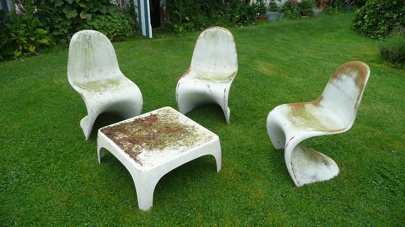 Panton Stuhl Original repaint original panton chair or not