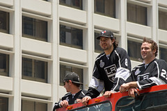 L.A. Kings parade -- Drew Doughty and Dustin Penner