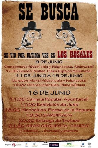 A Coruña 2012 - Sardiñada Os Rosales - cartel