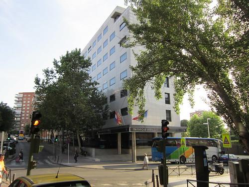 マドリッドのホテル 8:40 2012.6.1 by Poran111