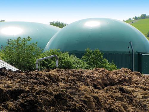 Biogasanlage -