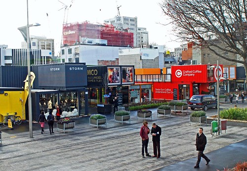Re: Start Mall, fashioned from shipping containers (c2012 GB Arrington; used with permission)