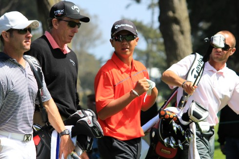 June 13th, 2012 - Andy Zhang at the U.S. Open