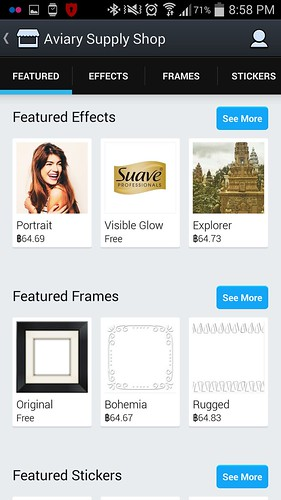Shop ของ Photo Editor by Avairy