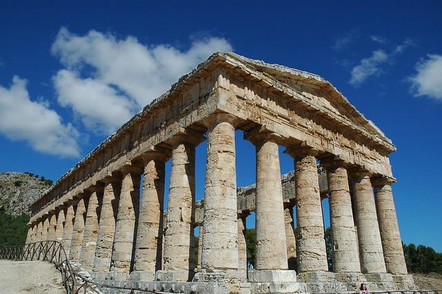 Temple de Segeste, Sicile
