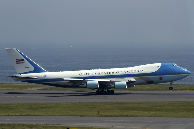 "USAF VC-25A ""Air Force One"""