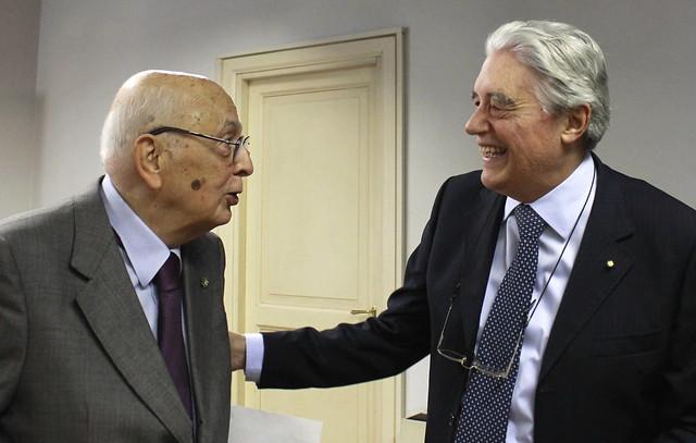 L'Italia e l'Europa: l'ex presidente Napolitano incontra lo IAI