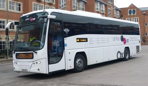 LF61 OXF 'Oxford Bus Company' 44 Scania 3A265 BSY / Plaxton Panther. on Dennis Basford's 'railsroadsrunways.blogspot.co.uk
