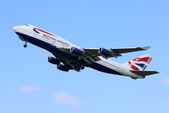 G-CIVY take off.