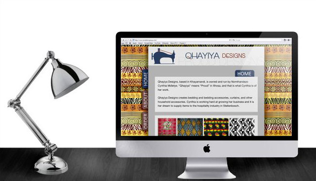 Qhayiya Designs Website