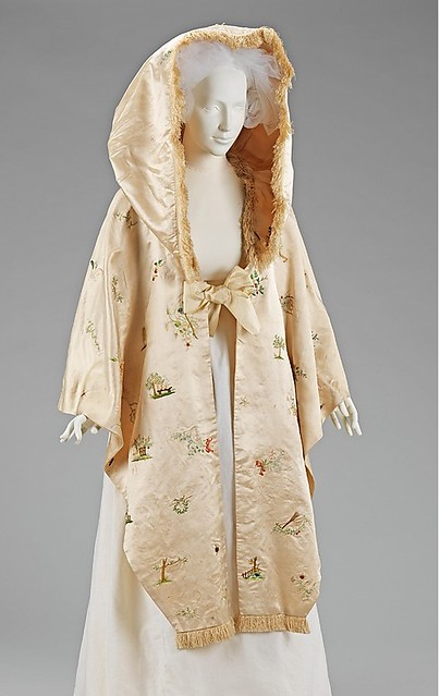 Metropolitan museum of Art Embroidered cape 1890