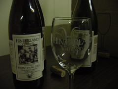 Hinterland wines from Clara City, MN