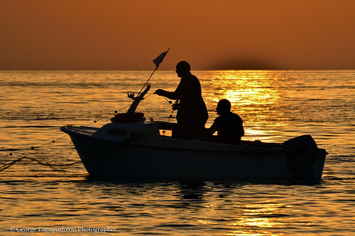 travel sea people beach nature colors landscape island golden fishing kos greece