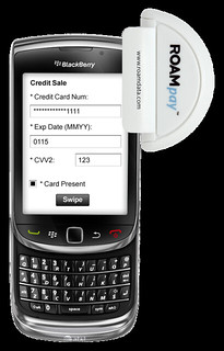Blackberry Credit Card App