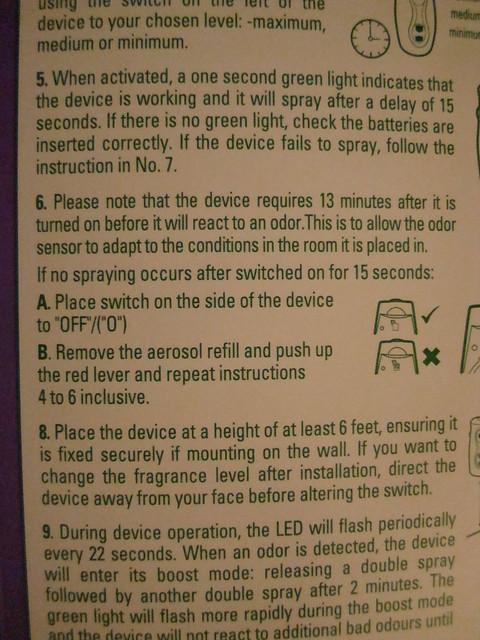 air wick freshmatic instructions