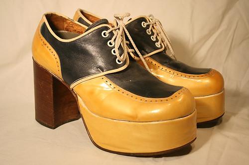 1970s platform shoes flickr photo