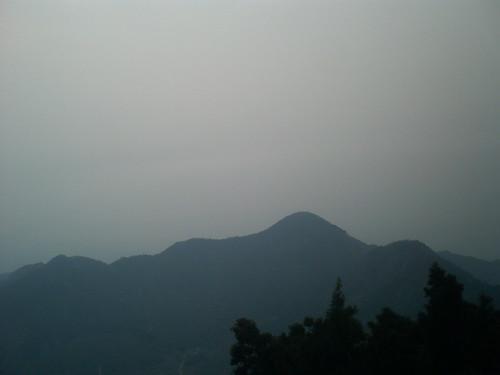 衡山日出前