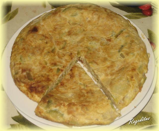 Rezeditas tortilla de calabac n nabo y cebolla - Tortilla de calabacin y cebolla ...