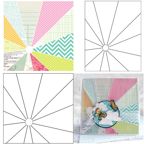 sunburst printable & overlays