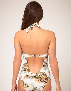 ted baker underwire suit back
