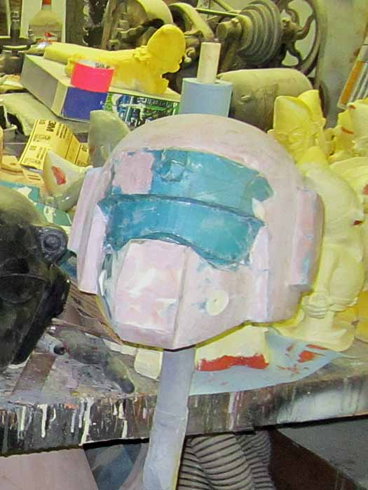 Imperial Guard Helmet Pep with Bondo