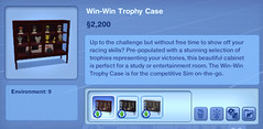 Win-Win Trophy Case
